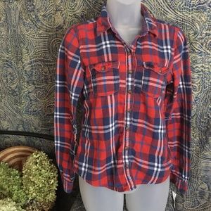 Abercrombie & Fitch Flannel Type Shirt S Medium